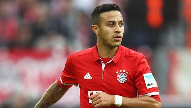 <p><strong>Thiago Alcantara</strong></p> <br><p>Bought by Pep Guardiola when he arrived in Munich, Thiago Alcantara is probably one of the most underrated players in world football right now. And although many believed he would follow Pep to Manchester City, he decided to stay in Bayern and to confirm he's now a key player to the Bavarian side. </p> <br><p>His impact on Bayern's game is not really to be seen in stats (6 goals, 5 assists so far), his influence on the pitch goes way beyond pure statistics: it's his vision, his intelligence, his sense of passing that make a difference. A true <em>maestro</em> to lead that team to victory. </p>