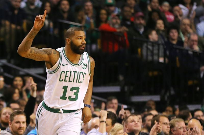 Celtics' Marcus Smart discusses challenge of defending James Harden