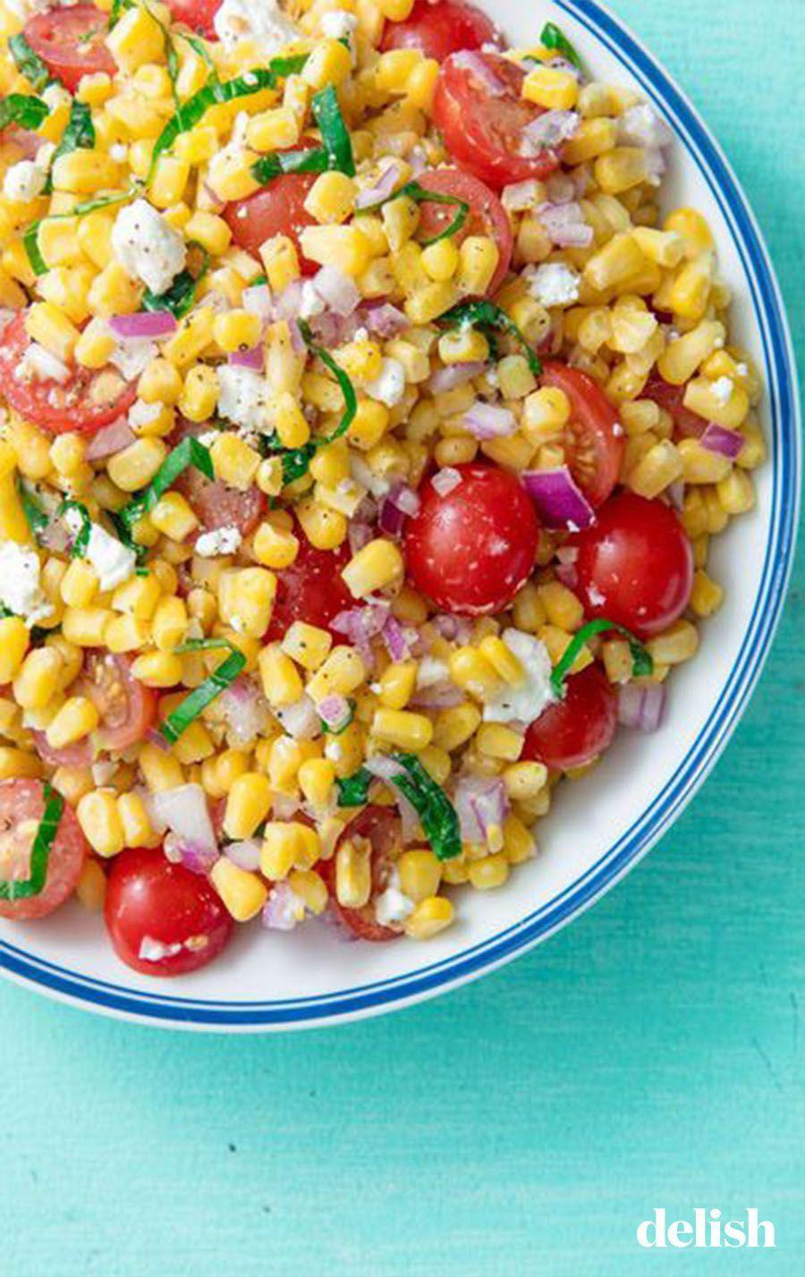 """<p>It's not summer without fresh corn.</p><p>Get the recipe from <a href=""""https://www.delish.com/cooking/recipe-ideas/a19695472/easy-fresh-corn-salad-recipe/"""" rel=""""nofollow noopener"""" target=""""_blank"""" data-ylk=""""slk:Delish"""" class=""""link rapid-noclick-resp"""">Delish</a>.</p>"""