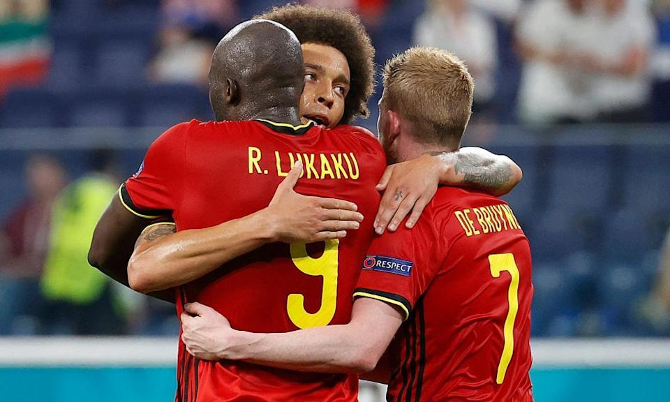 Romelu Lukaku and Kevin De Bruyne provide Belgium with attacking flair but the role of Axel Witsel is also vital