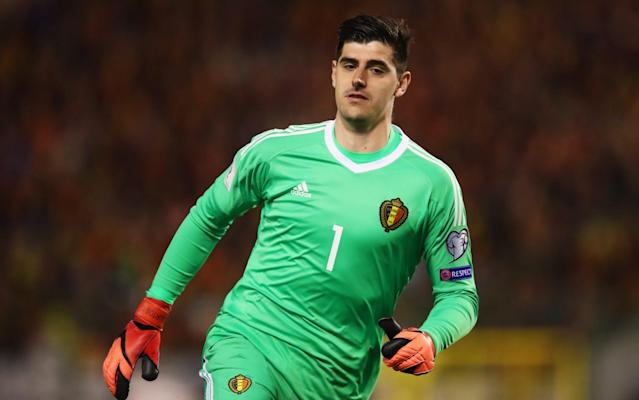 <span>Thibaut Courtois is available as Crystal Palace travel to Stamford Bridge</span> <span>Credit: Getty Images </span>