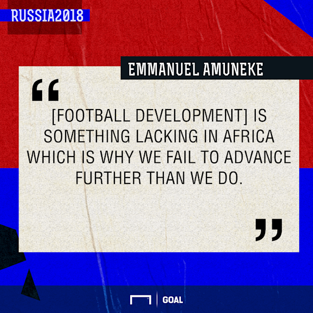 The African football icon has revealed why the continent's representatives always fail to sparkle at the global football showpiece
