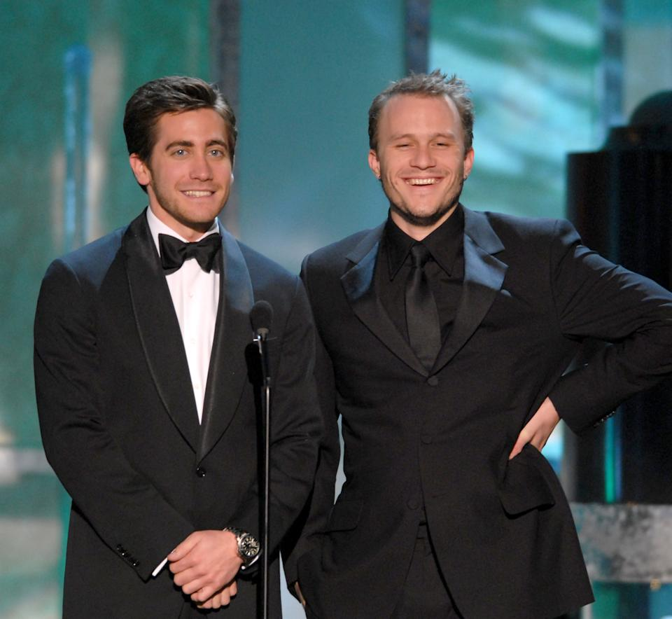 """Jake Gyllenhaal opened up about how Heath Ledger's death affected him saying """"Personally, it affected me in ways I can't necessarily put in words or even would want to talk about publicly."""" Photo: Getty"""