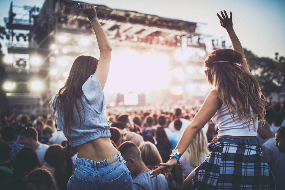 Festivals can go ahead after changes to the number restrictions on events. (Getty Images)