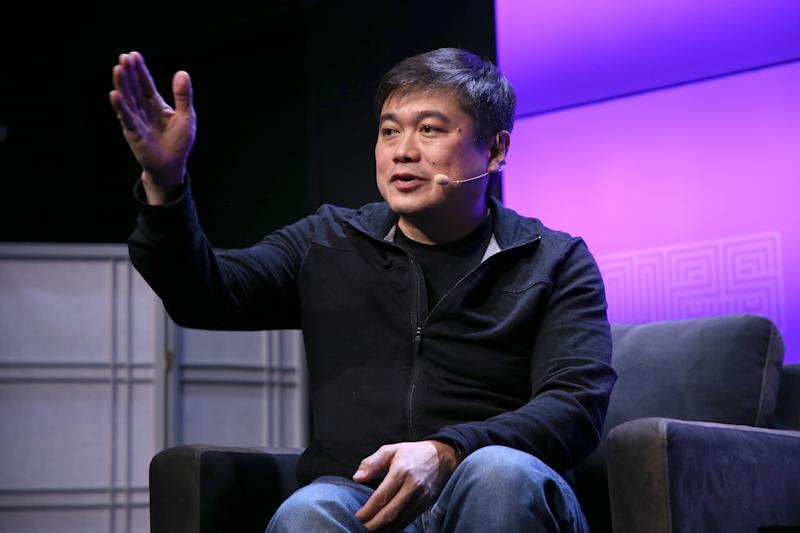 SAN FRANCISCO, CA - OCTOBER 13: Joi Ito speaks onstage at WIRED25 Festival: WIRED Celebrates 25th Anniversary – Day 1 on October 13, 2018 in San Francisco, California. (Photo by Phillip Faraone/Getty Images for WIRED25 )