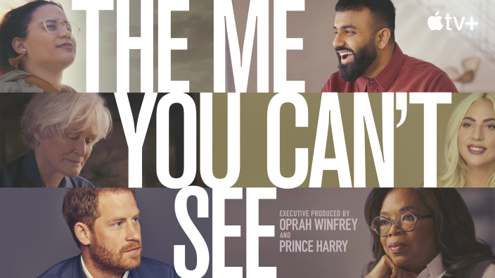 Image: The Me You Can't See featuring Prince Harry. (Apple TV)