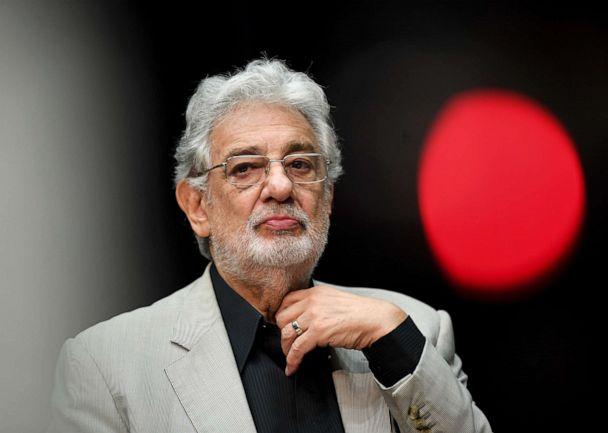 PHOTO: Placido Domingo, opera singer is seen during a press conference regarding the performance 'State Opera for All.' (Britta Pedersen/picture alliance via Getty Images)