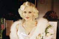 <p>The famous singer tried her hand at acting when she starred as Jean Harlow in the Oscar-nominated biopic about Howard Hughes.</p>