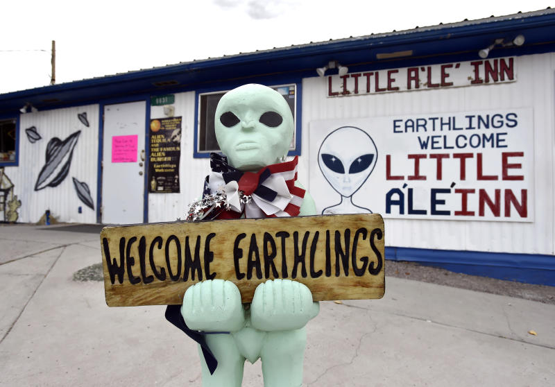 Little A'Le'Inn is the only public business in Rachel, Nev. (Photo: David Becker/For the Los Angeles Times/Getty Images)