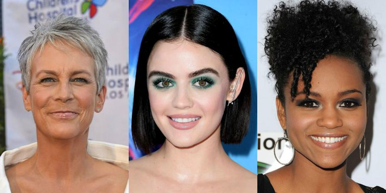 "<p>These easy-to-manage, celebrity-inspired looks are exactly what you need to amp up your <a rel=""nofollow"" href=""https://www.goodhousekeeping.com/beauty/hair/g4639/short-curly-hair/"">cropped cut</a>. Whether you want <a rel=""nofollow"" href=""https://www.goodhousekeeping.com/beauty/hair/g3014/how-to-get-beach-waves-hair/"">beachy waves</a>, sleek and straight strands, or a formal <a rel=""nofollow"" href=""https://www.goodhousekeeping.com/beauty/hair/advice/g5172/wedding-updos/"">updo</a>, you won't be missing long hair with these options. </p>"