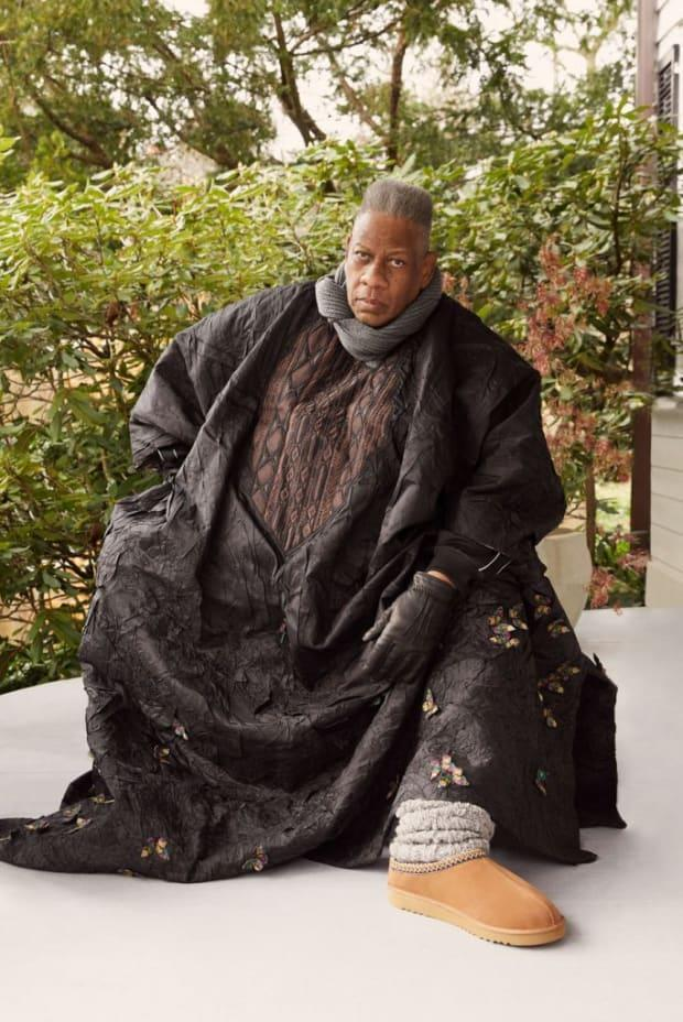 <p>André Leon Talley for Ugg. Photo: Courtesy of Ugg</p>