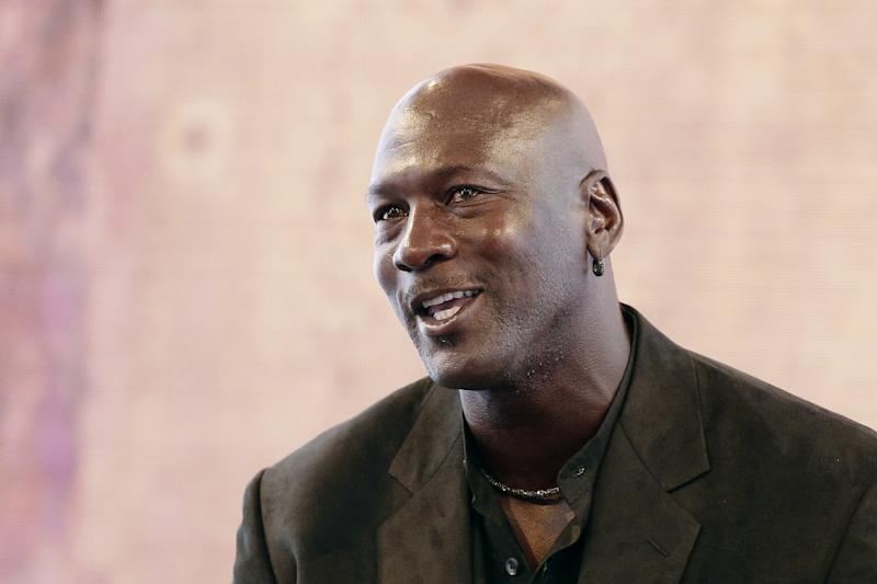 A Beijing court has dismissed a trademark case brought by US basketball superstar Michael Jordan against a company using a similar name and logo to his Nike-produced brand, a report says (AFP Photo/Patrick Kovarik)