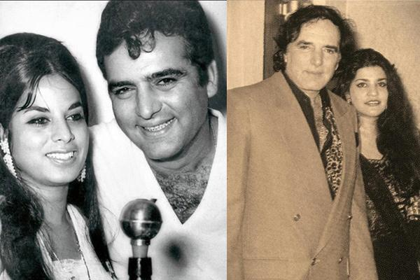 Feroz Khan and Jyotika