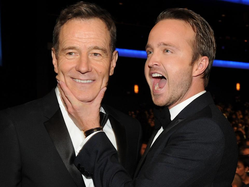 Bryan Cranston and Aaron Paul have been working together for years.