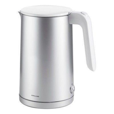 """<p><strong>Zwilling</strong></p><p>target.com</p><p><strong>$79.95</strong></p><p><a href=""""https://www.target.com/p/zwilling-enfinigy-cool-touch-kettle/-/A-82244560"""" rel=""""nofollow noopener"""" target=""""_blank"""" data-ylk=""""slk:Shop Now"""" class=""""link rapid-noclick-resp"""">Shop Now</a></p><p>Let's get practical for a moment—nothing ruins the excitement of prepping a soothing cup of chai more than burning your hand on a scalding hot handle (take it from someone who's been there far too many times). The cool-touch handle on this sleek stainless steel kettle ensures that'll never happen.</p>"""