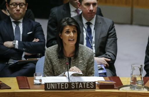 <p>US envoy Haley to present 'irrefutable evidence' on Iran</p>