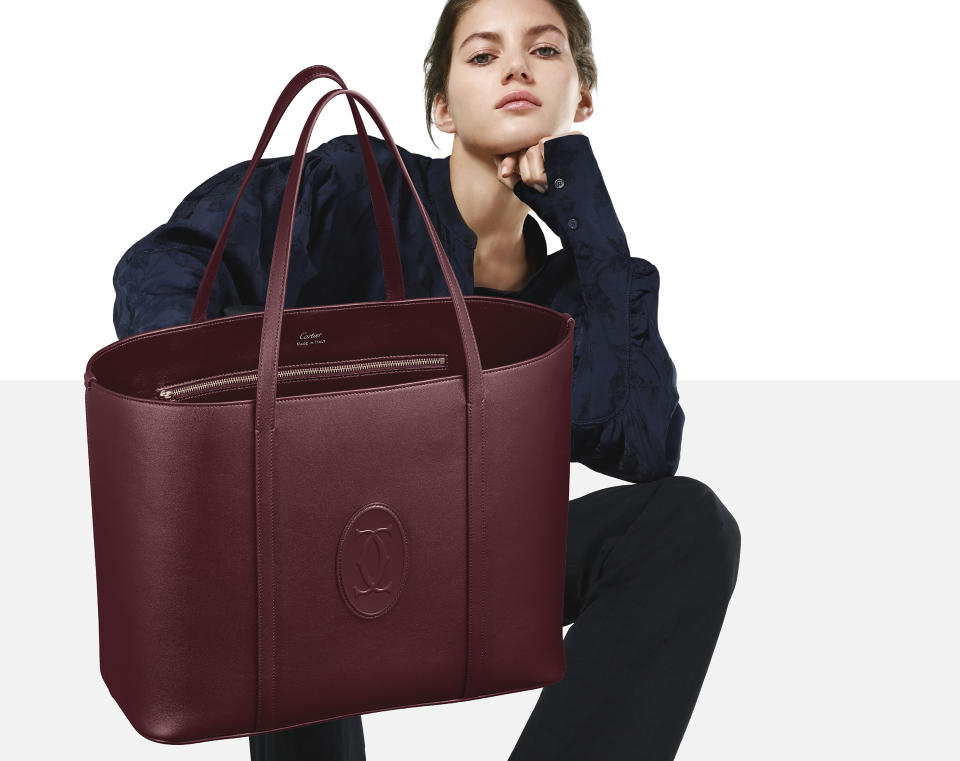 Must tote bag. (PHOTO: Cartier)