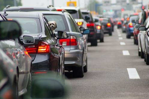 """<span class=""""caption"""">Commuting by car can be tough to give up.</span> <span class=""""attribution""""><span class=""""source"""">daisy / shutterstock</span></span>"""
