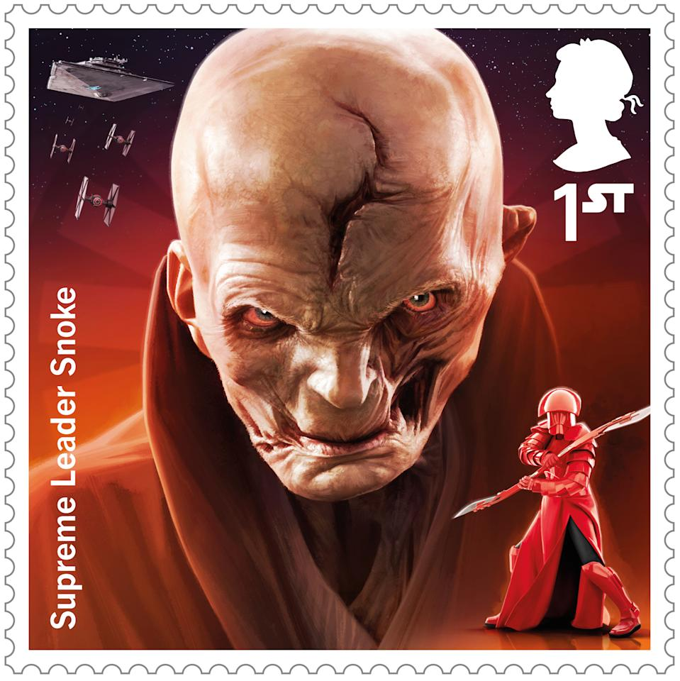 <p>Supreme Leader Snoke </p>