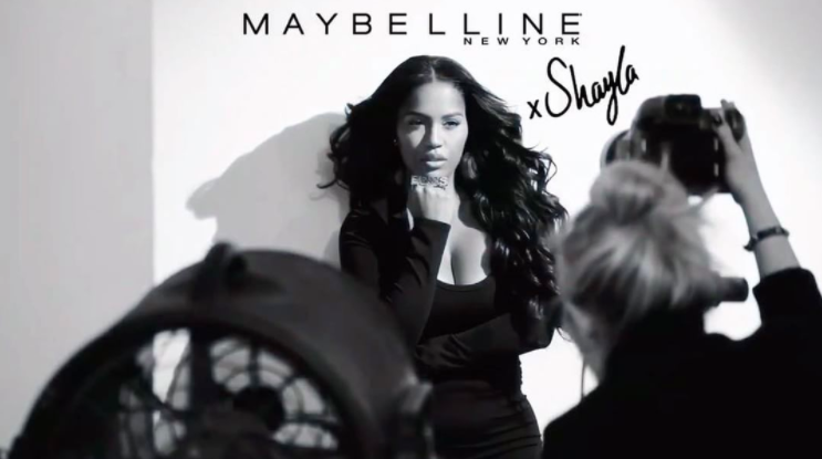 <p>For the first time ever, Maybelline has collaborated with one of YouTube's favorite beauty vloggers Shayla Mitchell to launch limited-edition products. The Maybelline x Shayla collection will include mascaras and a highlighting palette. (Photo: Instagram/Maybeline) </p>