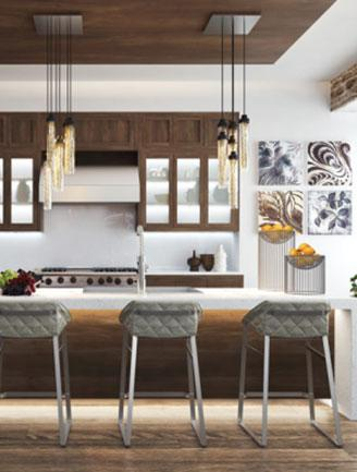 """<div class=""""caption-credit"""">Photo by: Photo: The Residences at Sixty-Six East Eleventh S</div><div class=""""caption-title""""></div><b>Kitchen</b> Having a party on short notice? No worries, just grab a bottle of vino from the 78-bottle wine refrigerator. <br>"""