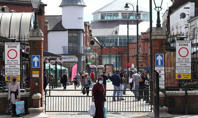 Coronavirus: Households to be banned from meeting in Oldham, Pendle and Blackburn