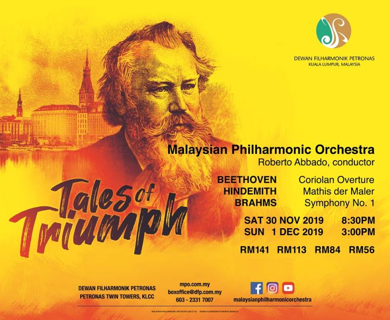 'Tales of Triumph' will feature three masterpieces by acclaimed German composers in a single programme. — Picture courtesy of Malaysian Philharmonic Orchestra