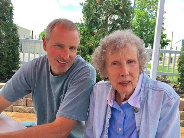 PHOTO: Charley Adams is pictured with mother, Julia, in Bessemer, Pa., in an undated handout photo. (Courtesy Charley Adams)