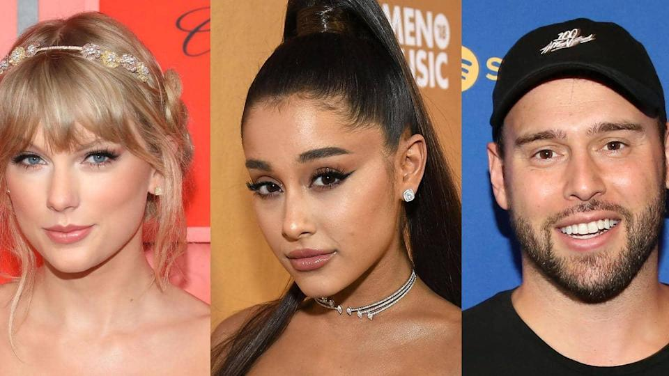 Is Ariana distancing herself from Scooter over his Taylor feud?