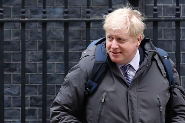 Backing For London Mayor Boris Johnson To Become The Next Leader Of The U.K.'s Governing Conservative Party Surged