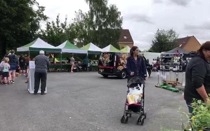 Residents have criticised the decision to shut down the popular market. - SWNS