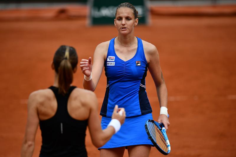 Second seed Pliskova slides to defeat against Martic