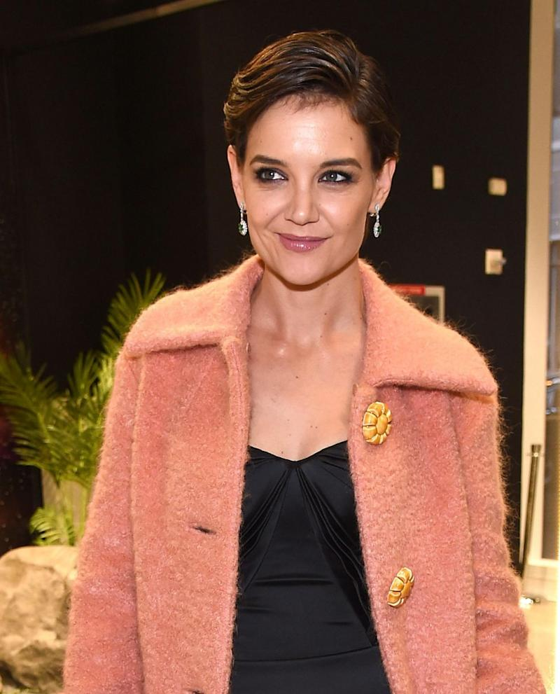 Katie Holmes attends Prive Revaux Eyewear's New York Flagship launch event at Prive Revaux on December 4, 2017 in New York City. Source: Getty