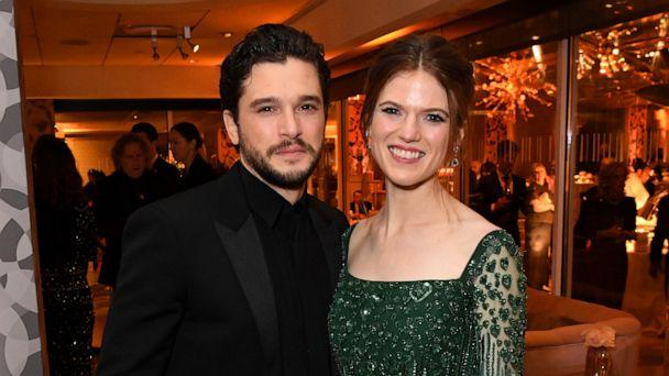 PHOTO: In this Jan. 5, 2020, file photo, Kit Harington and Rose Leslie attend HBO's Official 2020 Golden Globe Awards After Party in Los Angeles. (Jeff Kravitz/FilmMagic for HBO via Getty Images, FILE)
