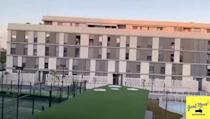 "<p>Local residents who are quarantined in Seville, Spain have also been keeping their spirits up via a communal game of Bingo using a loudspeaker.</p><p><a href=""https://www.instagram.com/p/B9w26H9gmEd/"" rel=""nofollow noopener"" target=""_blank"" data-ylk=""slk:See the original post on Instagram"" class=""link rapid-noclick-resp"">See the original post on Instagram</a></p>"
