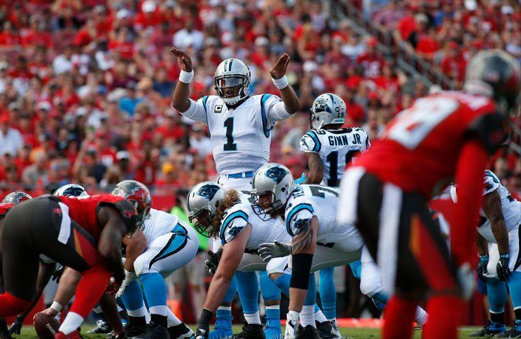 Cam Newton is looking to rebound against the rest of the NFL. (Getty)