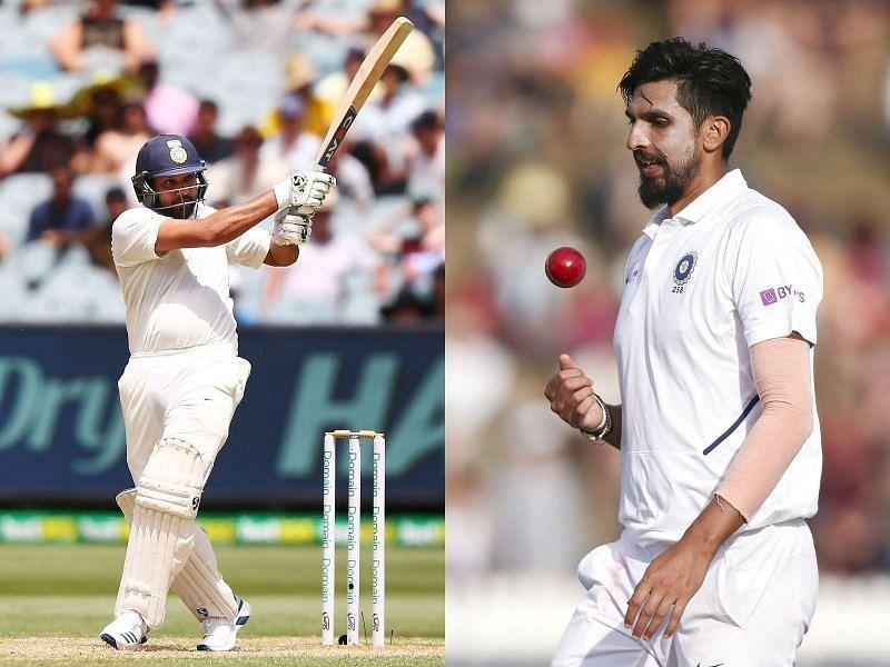 Rohit Sharma and Ishant Sharma will not be available at least for the first two Test matches