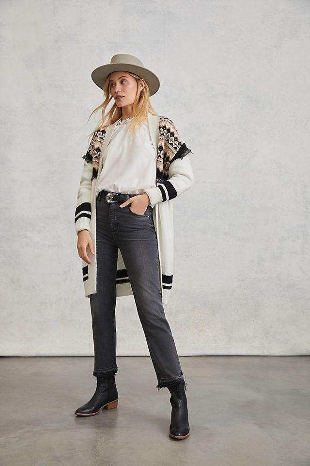 """<br><br><strong>PAIGE</strong> Sarah Ultra High-Rise Slim Straight Jeans, $, available at <a href=""""https://go.skimresources.com/?id=30283X879131&url=https%3A%2F%2Fwww.anthropologie.com%2Fshop%2Fpaige-sarah-ultra-high-rise-slim-straight-jeans3"""" rel=""""nofollow noopener"""" target=""""_blank"""" data-ylk=""""slk:Anthropologie"""" class=""""link rapid-noclick-resp"""">Anthropologie</a>"""