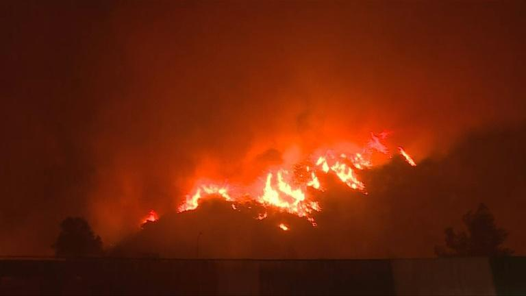Deadly wildfires reach Turkish power plant