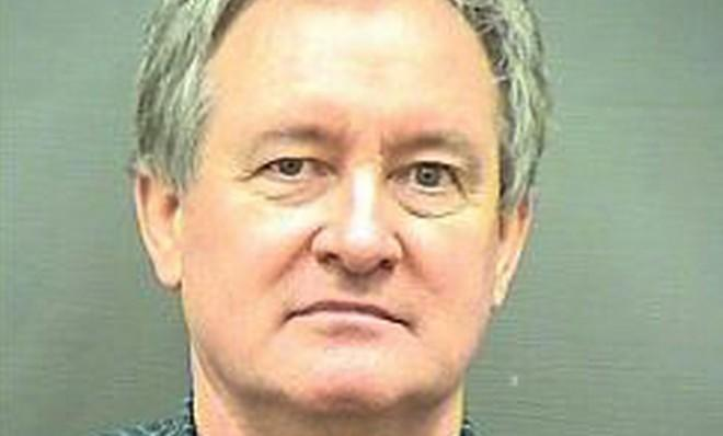 Idaho Sen. Mike Crapo's police booking photo, taken after the Republican was arrested for driving under the influence.