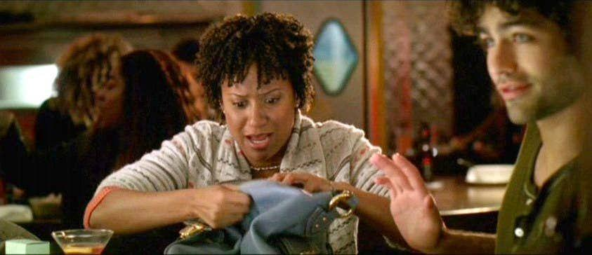<p>Ungrateful friend #1 (aka Lily) was played by Tracie Thomas, who, just before snagging this role in <em>The Devil Wears Prada</em>, had starred in the movie <em>Rent</em>.</p>