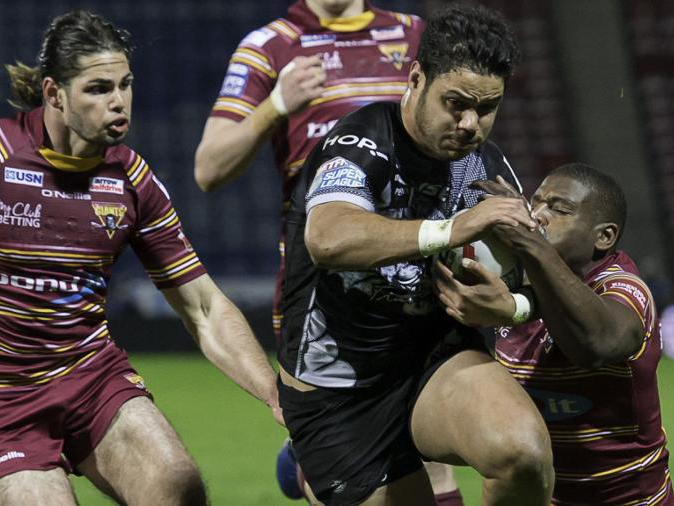 Huddersfield crashed to a disappointing home defeat against the Catalans: Getty