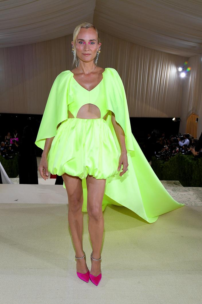 """<h1 class=""""title"""">Diane Kruger in Prabal Gurung and Jimmy Choo shoes</h1><cite class=""""credit"""">Photo: Getty Images</cite>"""