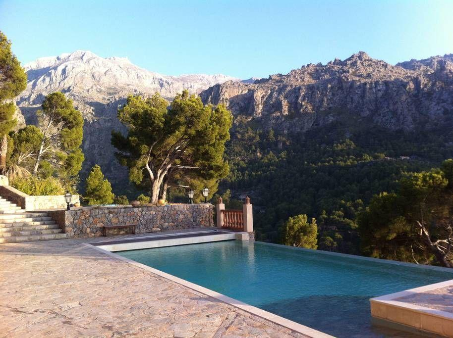"""<p>If you prefer the dramatic vista of a mountainscape, rather than the sea, this hideaway in Spain is certainly for you.</p><p>Book via: <a href=""""https://www.airbnb.co.uk/rooms/19192490?location=Ibiza&s=j3VS7lz_"""" rel=""""nofollow noopener"""" target=""""_blank"""" data-ylk=""""slk:Airbnb"""" class=""""link rapid-noclick-resp"""">Airbnb</a></p>"""