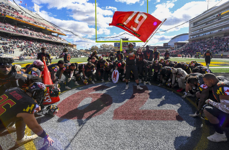 More than a year after Jordan McNair — who wore No. 79 — died of a heat stroke, Maryland cruised to an extremely special win on Saturday afternoon.