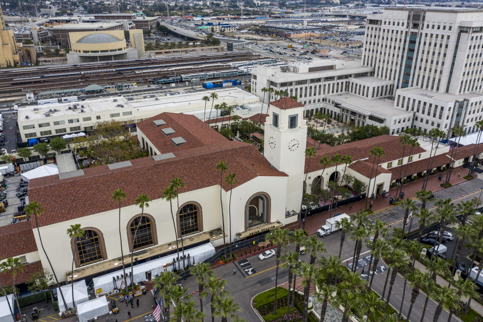 Los Angeles, CA, Thursday, April 22, 2021 - Union Station, site of the 93rd Academy Awards. Robert Gauthier/Los Angeles Times via Getty Images)