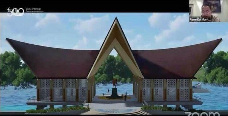 NQC unveils Lapu Shrine design