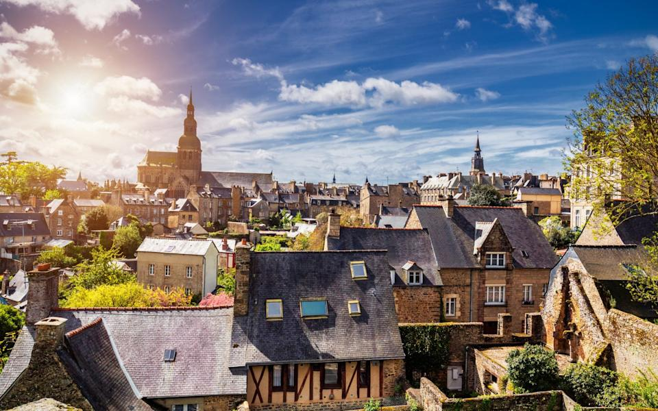 Uncertainty over flights meant that French property within driving distance of Britain, such as in Brittany, has surged this summer - DaLiu