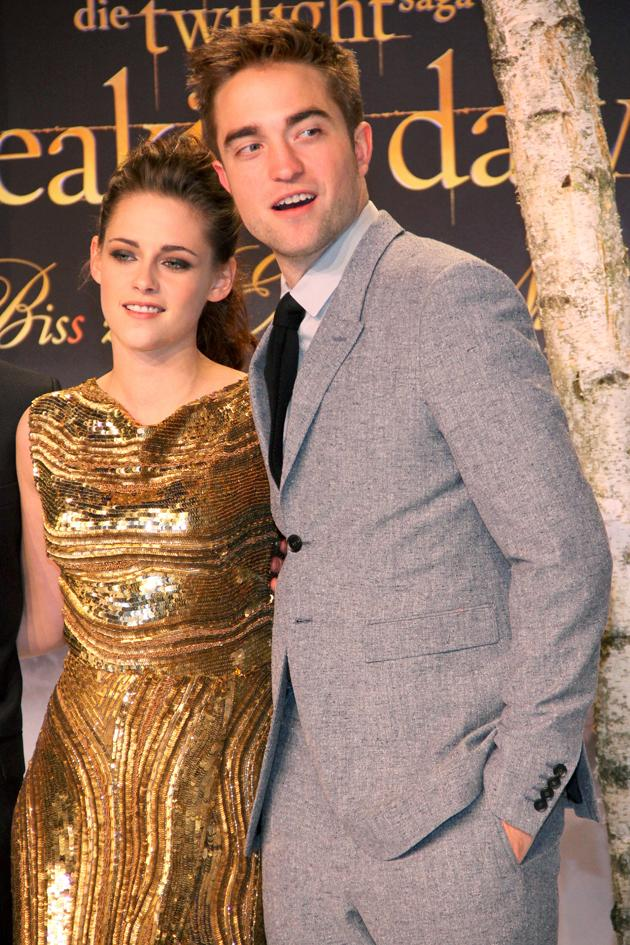 The Twilight cast touched down in Berlin and it was soon time to hit the red carpet again. Copyright [WENN]