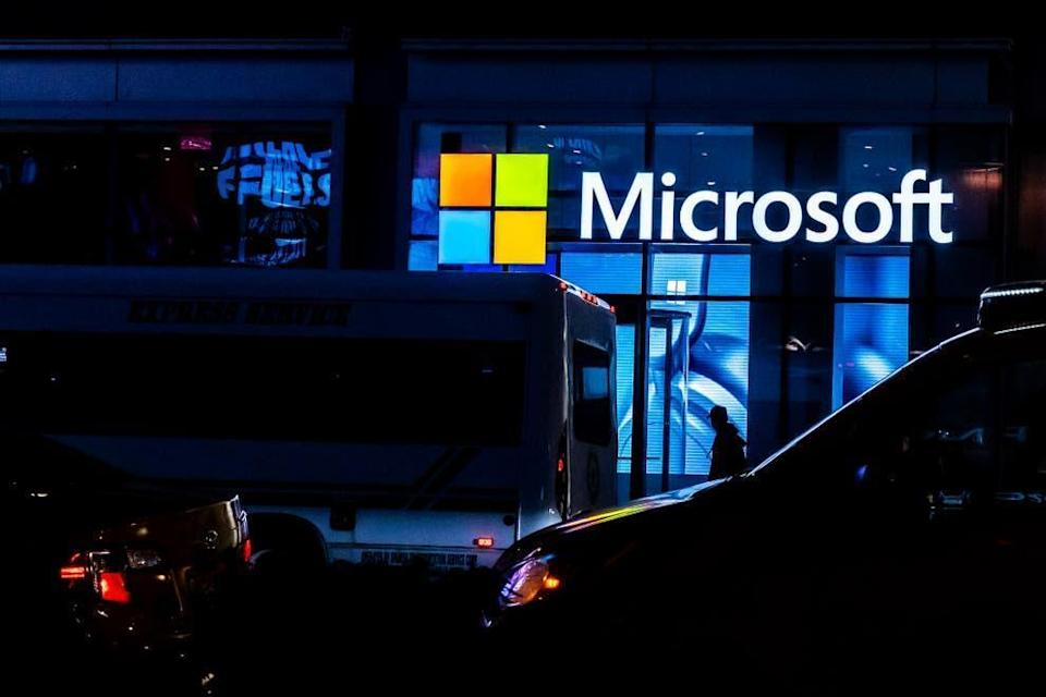 Earlier this year the company said that it had found vulnerabilities in its Exchange Server tools, which is used to run email and calendars for many large companies (Getty)
